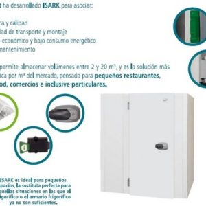 Camara frigorifica de temperatura positiva disponible en diferentes dimensiones