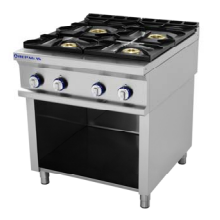 cocina a gas 4 fuegos repagas serie 750 maquinaria