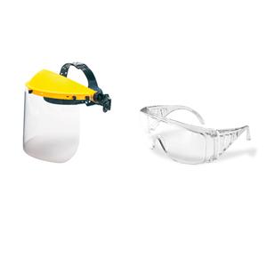 Gafas y pantallas protección