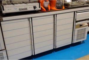 Frente Mostrador Refrigerado 4 puertas 2542X600X1045h mm FMCH-250