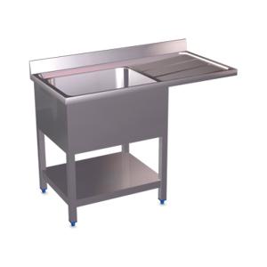 Fregaderos y mesas de lavado