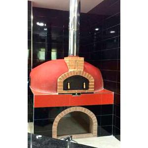 Horno gas y leña para pizza