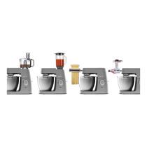 Robot-de-cocina,-amasadora-planteria-Kenwood-Chef-Elite-XL-KVL6320S-con-control-electrónico-de-velocidad 3