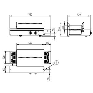dimensiones-tostadora-cinta-hosteleria-tpc-75