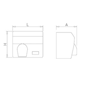 secamanos-inox-optico-tobera-pulsador-dimensiones