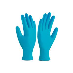 guante-vinilo-azul-desechable