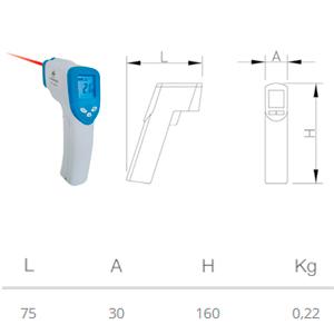 Termómetro-digital-con-pistola-de-infrarrojos