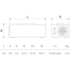 generador-ozono-desinfectante-dimensiones
