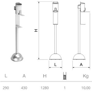 dispensador-columna-codo-gel-hidroalcoholico-dimensiones